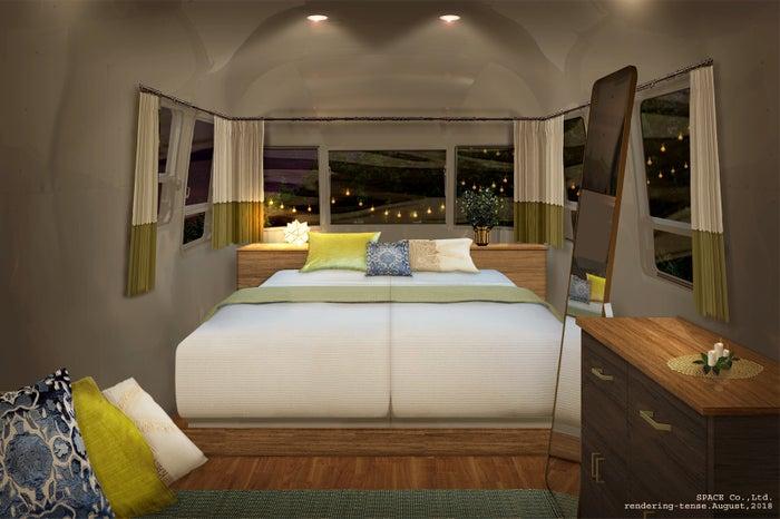 エアストリーム1室2名 20,000 円/画像提供:アコーディア・ゴルフ