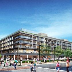「横浜ハンマーヘッド」商業・ホテル・客船ターミナルの新複合施設、段階的に開業へ
