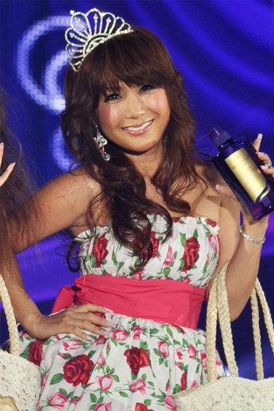 はるな愛(「Girls Award by CROOZ blog 2011 SPRING/SUMMER」より)