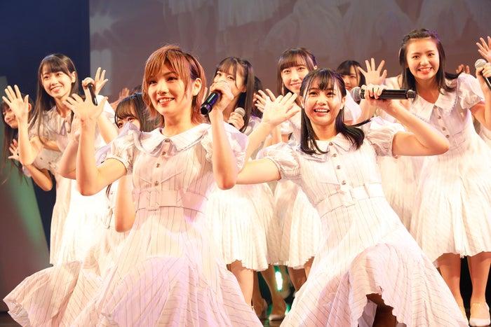 「STU48 第2期生オーディション最終審査~少女の夢の扉を開けるのはアナタだ!~」の様子(C)STU