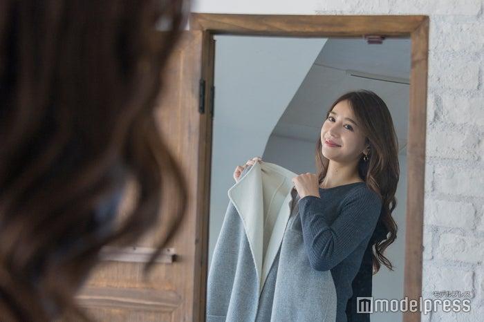 忙しい毎日でも美しさを保つ丸山さん (C)モデルプレス