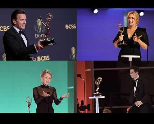 第73回エミー賞授賞式 昨年より視聴率16パーセント上昇、7年連続下降にストップ