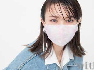 櫻坂46小林由依、マスク姿の春メイク披露 不意打ちウインクにスタッフきゅん