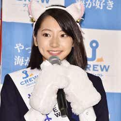 猫耳衣装で登場した武田玲奈(C)モデルプレス