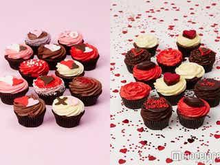 ロンドン発カップケーキのバレンタインが可愛すぎる