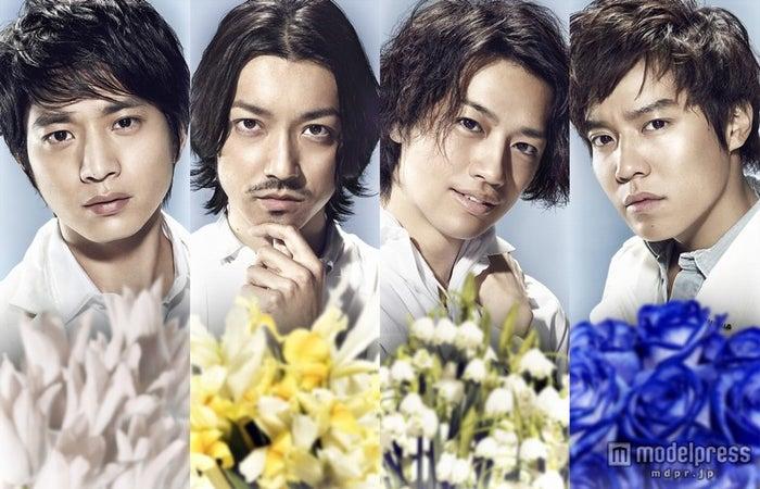 ドラマ「最上のプロポーズ」で主演をつとめる(左から)向井理、金子ノブアキ、斎藤工、小出恵介(C)BeeTV