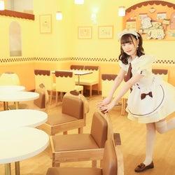 原宿「ポムポムプリンカフェ」がリニューアル、メイドカフェ要素がプラス