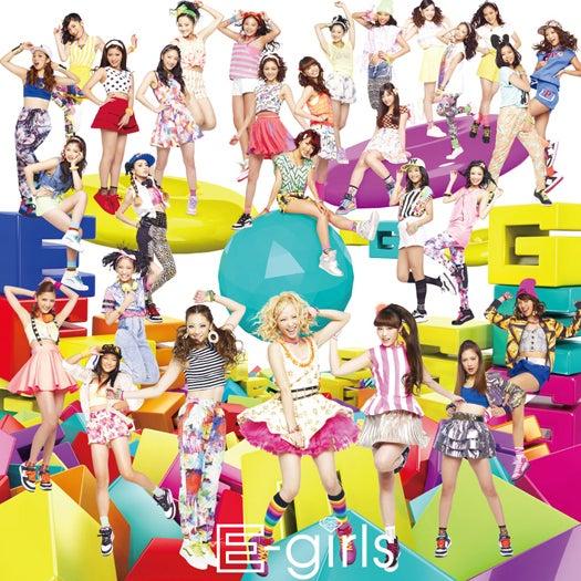 E-girls/新曲「ごめんなさいのKissing You」(10月2日発売)初回版