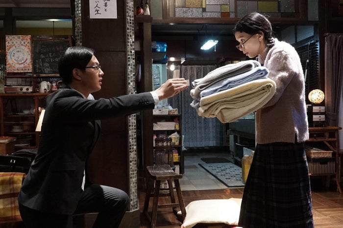 工藤阿須加、芳根京子/「海月姫」第9話より(C)フジテレビ