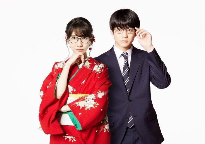 (左から)柏木由紀、伊藤健太郎(C)「この恋はツミなのか!?」製作委員会・MBS