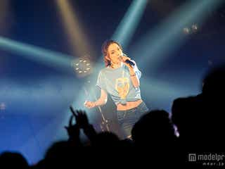 安田レイ「号泣しながら…」香里奈主演ドラマ主題歌披露 宇多田「First Love」カバーも<セットリスト>