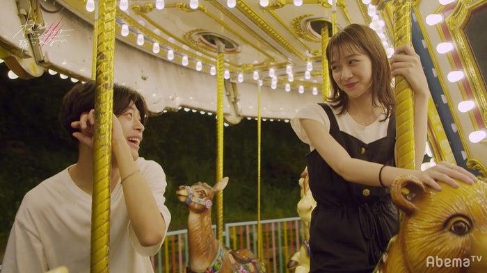 竹内唯人、杉本愛里「オオカミちゃんには騙されない」第7話(C)AbemaTV