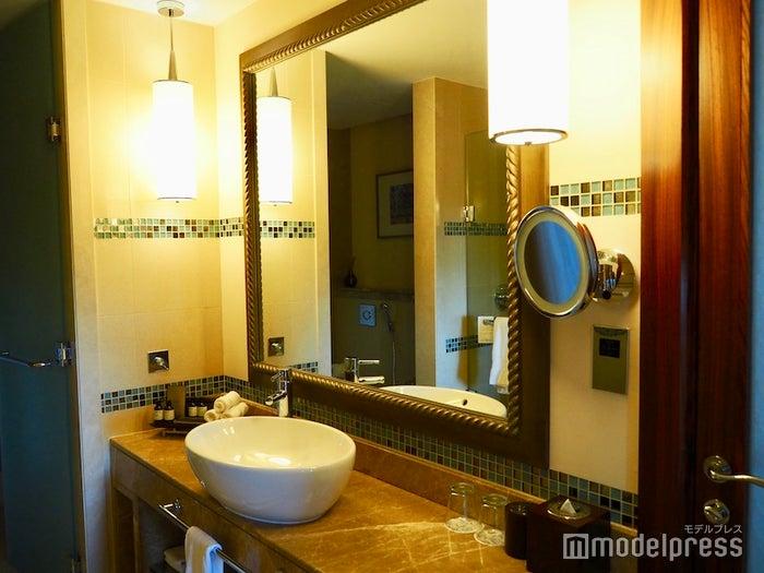 ゴールドを基調とした豪華な洗面台(C)モデルプレス