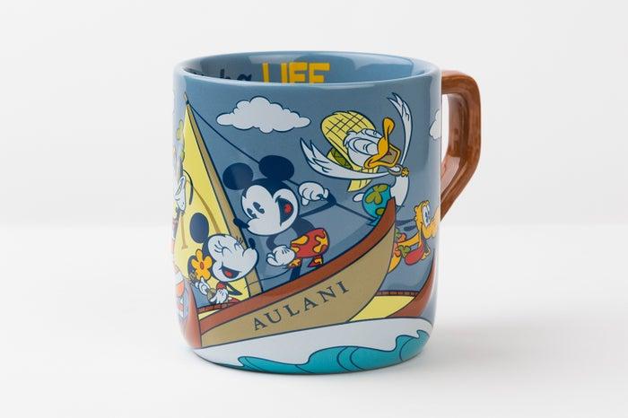 ハワイ「アウラニ」に新作グッズ、レトロ可愛いミッキー達をデザイン(C)Disney
