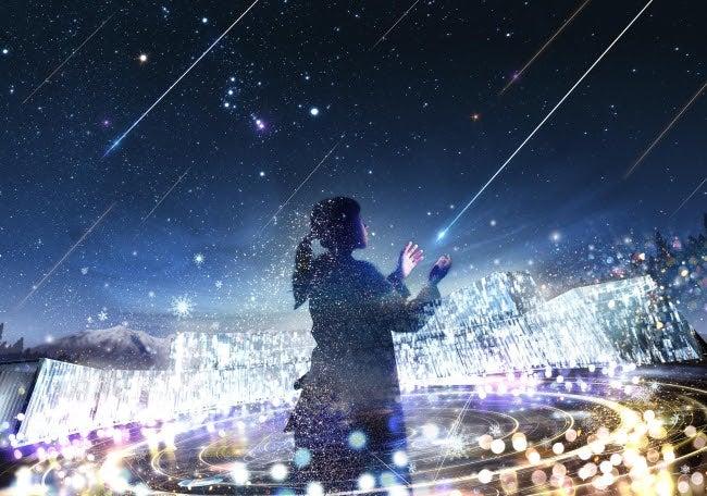 天空の楽園 Winter Night Tour 2018 STARS BY NAKED/画像提供:ネイキッド