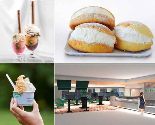 「ジョリッティカフェ」有楽町マルイに開業、自慢のジェラートやイタリア料理提供