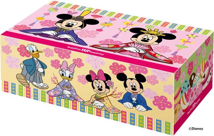 ミッキー&ミニー / ひなだんかざり (C)Disney