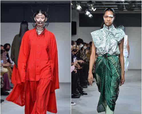 楽天ファッション・ウィーク22年春夏 奥行きを出すデジタルの表現力