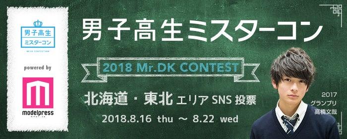 「男子高生ミスターコン2018」SNS審査(北海道・東北エリア)(C)モデルプレス