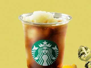 スタバ「コールドブリュー コーヒー フローズンレモネード」甘酸っぱい爽やかドリンク
