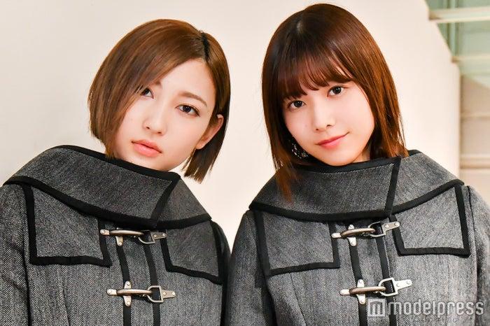 志田愛佳&渡邉理佐(C)モデルプレス