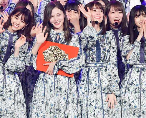 乃木坂46が2連覇「日本レコード大賞」視聴率発表