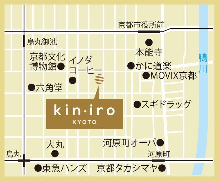 クリームパン専門店 キンイロ地図/画像提供:金市商店