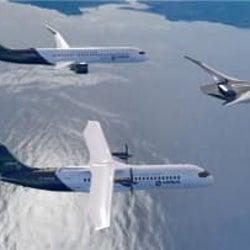 エアバス、CO2排出ゼロの旅客機を計画 水素で航行