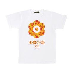 「24時間テレビ40」チャリTシャツ白(画像提供:日本テレビ)