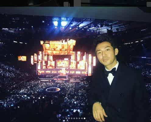 ピース綾部、グラミー賞授賞式へ 千鳥ノブの的確ツッコミにファン歓喜