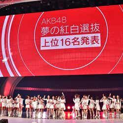 """モデルプレス - AKB48""""紅白選抜""""全順位発表<1位~48位/全メンバー最終獲得票数>"""