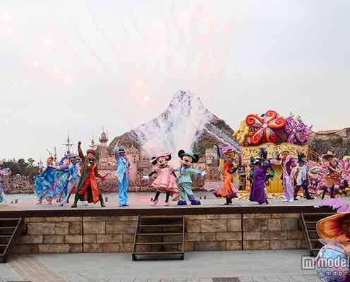 「ディズニー・イースター」シーで初開催 新ショーお披露目、可動式ステージ導入で華やかに