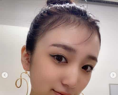 HKT48矢吹奈子、韓国コスメ&デコ出しで雰囲気ガラリ「大人美人」「別人級」の声