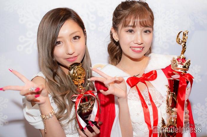 左:準グランプリの瀬戸ももあさん、右:グランプリの大浦央菜さん (C)モデルプレス