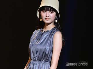 鶴嶋乃愛、ほっそり二の腕が眩しい ロマンティックスタイルで魅了<超十代-ULTRA TEENS FES-2021 PREMIUM>