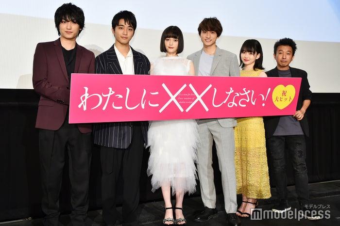映画『わたしに××しなさい!』初日舞台挨拶(C)モデルプレス