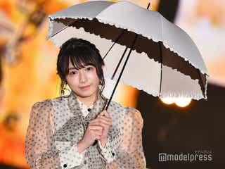 欅坂46渡辺梨加、上品コーデでキュートな笑顔振りまく<GirlsAward 2019 SPRING/SUMMER>