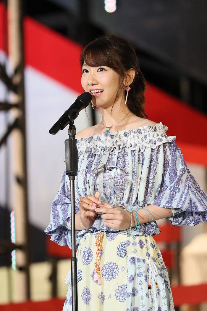 柏木由紀、昨年よりダウンの順位は?「本当にショックじゃない」<第8回AKB48選抜総選挙>(C)AKS