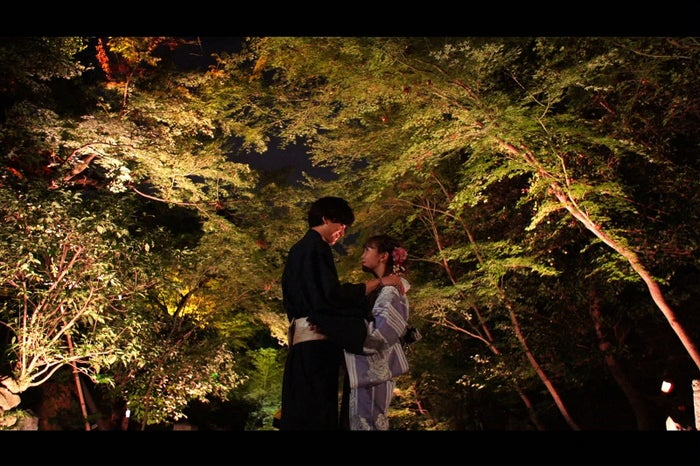 「ラストキス~最後にキスするデート~」に出演した小野健斗、藤田ニコル(C)TBS