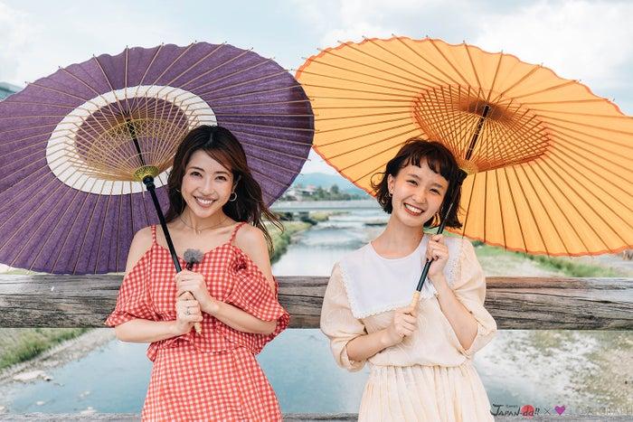 くみっきー、柴田紗希 (写真提供:MBS)
