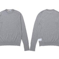 「ジョンスメドレー」×「フラグメントデザイン」がコラボ メンズセーターを発売