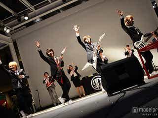 DISH//「出勤しまーす!」新入社員従えスーツ姿で熱狂ライブ 新曲順位の生発表に大興奮