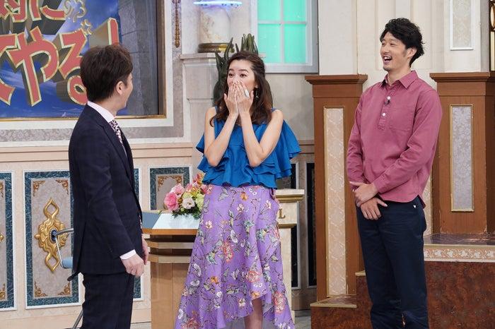 後藤輝基、仁香、柴田翔平氏 (C)日本テレビ