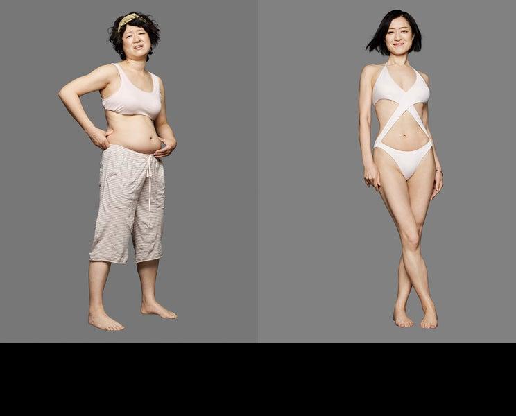 「カメ止め」しゅはまはるみ、体重14.7kg減「ライザップ」新CMで衝撃ビフォーアフター公開