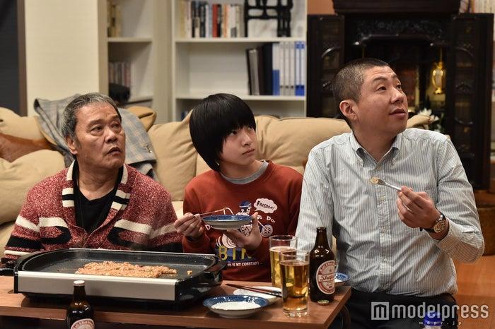西田敏行、高田彪我、荒川良々「家族ノカタチ」第4話場面カット/画像提供:TBS