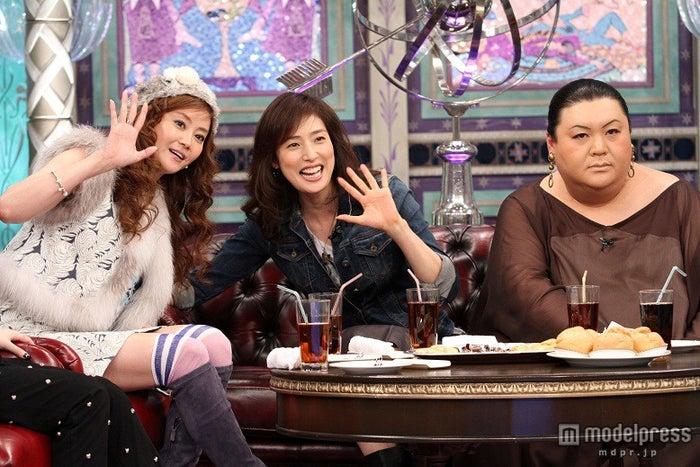 左から:観月ありさ、天海祐希、マツコ・デラックス/画像提供:関西テレビ