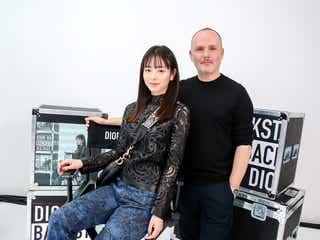 横田真悠「Dior」パーティーで初海外イベント「沢山の貴重な経験をさせて頂きました」