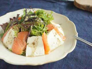 おいしく食べ痩せ!ダイエットに◎豆腐が主役のごちそうサラダ