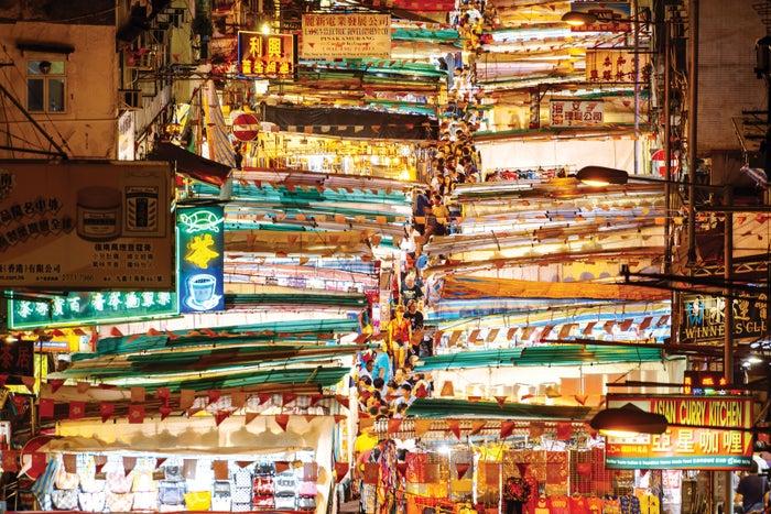 テンプルストリート/画像提供:香港政府観光局