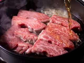 名物のすき焼きは肉の厚さ2cm! 肉食な大人たちに話題の店は赤坂にあった!